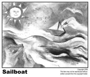 Item 25 - Sailboat