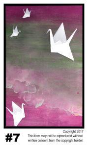 Sea Cranes - $30T#7<br> Tempera<br> Traditional - 11 x 17 in.