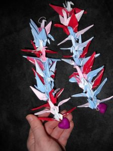 Painted Crane Mobiles