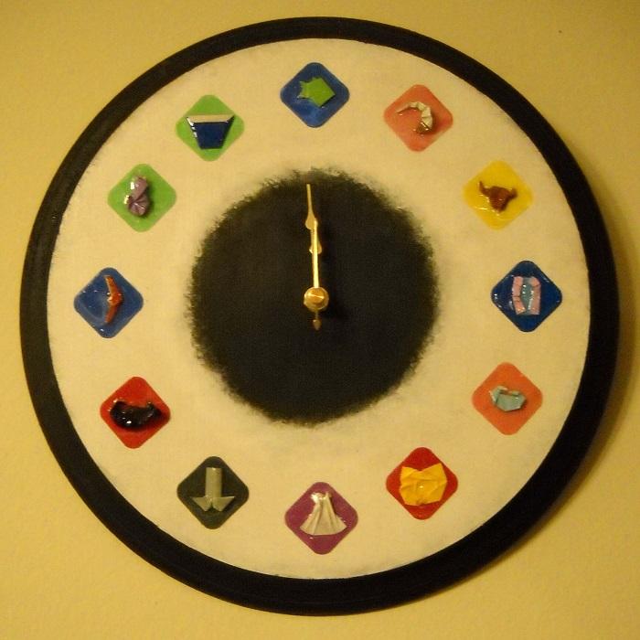 General Zodiac Clock