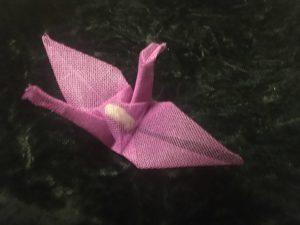 Magenta Holy Crane