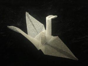 White Holy Crane