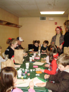 Origami kids party
