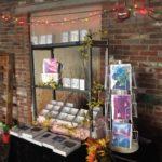 Memorabilia sales display