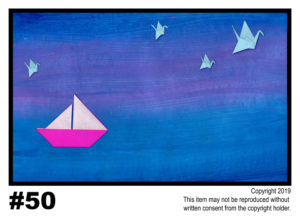 Night Flight - $30T#50<br> Tempera<br> Traditional - 11 x 17 in.