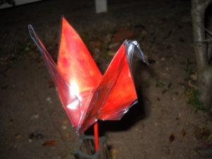 Orange crane...