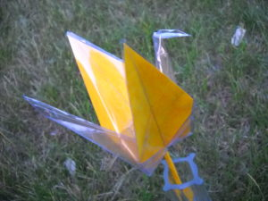 Yellow crane...