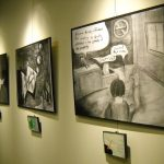 Highlight at Lisa's Solo Exhibition | Sayville Public Library: Sayville, NY (March 2012)