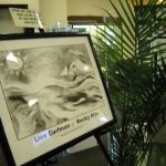 Welcome Art for Lisa's Solo Exhibition | Sayville Public Library: Sayville, NY (March 2012)