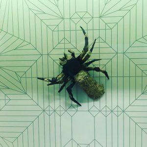 EMOZ Spider Artifact (Educational Museum of Origami in Zaragoza)