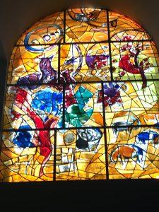 Chagall Window at Hadassah Hospital
