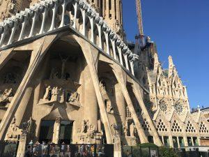 Sagrada Familia Outer Walls Segment