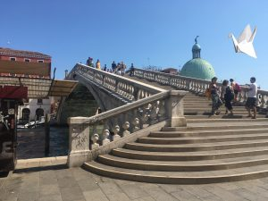 Venice Staircase by bus depot
